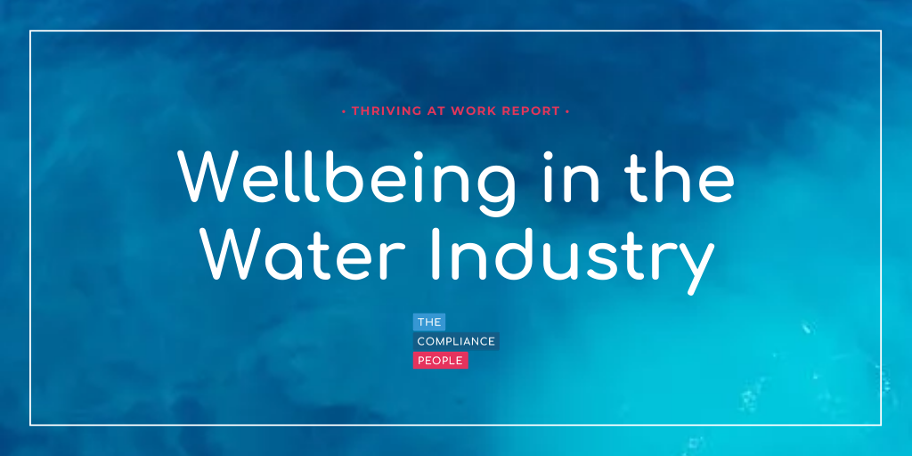 Wellbeing in the Water Industry