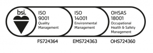 BSI Iso badge